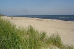 Stranden fra klitterne
